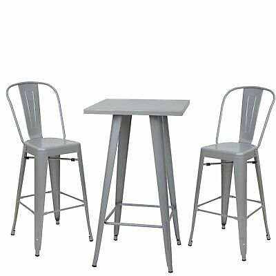 ENSEMBLE comptoir de HAUTE bar TABLE debout mange et 2 m0wOvnN8