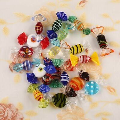 1 pc Murano Glass Sweets Vintage Xmas Party Wedding Candy Decor Gift New