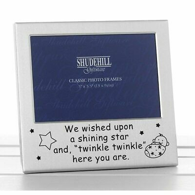 Engraved Twinkle Twinkle Photo Frame Baby Boy Girl Shower Gifts Present Occasion