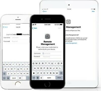 Apple Iphone Mdm Bypass,Unlock Remote Profile Remove, Ios 12.4 Supported 1-24 H