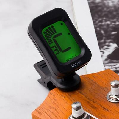 Chromatic Clip-On Guitar Tuner for Acoustic Guitar Bass Violin Ukulele New Hot