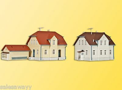 Kibri 36827 Settlement House Ruhrstrasse, 2 Pieces and One Side Building, Kit, Z