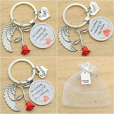 In Loving Memory Keyring. You Are Always In My Heart. Gift Bag. Mum. Dad.nanny