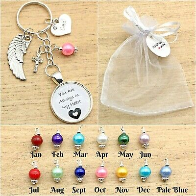 In Loving Memory Keyring. I Will Hold You In My Heart/ In Heaven. Gift Bag