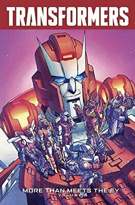 Transformers: More Than Meets The Eye Volume 8 by Roberts, James