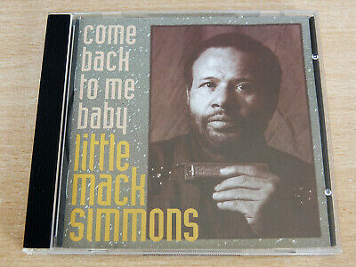 Little Mack Simmons/Come Back To Me Baby/1994 CD Album