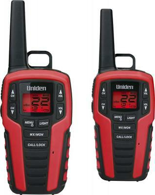Uniden SX327-2CKHS 32 Mile MicroUSB FRS/GMRS Two-Way Radios with Charging Kit, 2