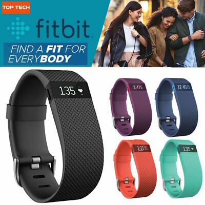 Fitbit Charge HR Heart Rate & Wireless Activity Tracker Wristband Small Black