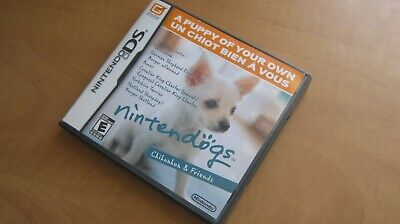 Nintendogs Chihuahua & Friends Nintendo DS Game - Works Perfectly