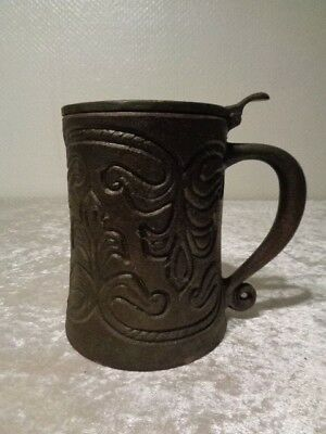 Old Beer Mug/ Beer Tankards Made of Iron - Souvenir/Memory - Moscow/Russia