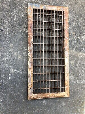 JY 1 Antique Sheet Metal Cold Air Return/Vent