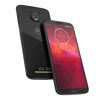 Moto Z3 - XT1929-17-  64GB - Black - Verizon