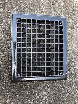 JY 5 Antique sheet metal heating grate with fins