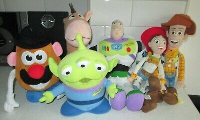 Toy Story 2 3 4 Woody Jessie Bullseye Buzz Mr Potato Head Alien Large Soft Toys