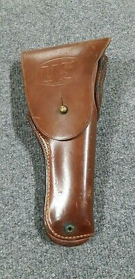 Vintage BOYT 44 M1916 WW2 US Military Leather Flap Holster Colt 45 1911  #225