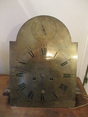 Humphrey Mason Gosport Rare 6 Pillar Seconds In Arch Clock