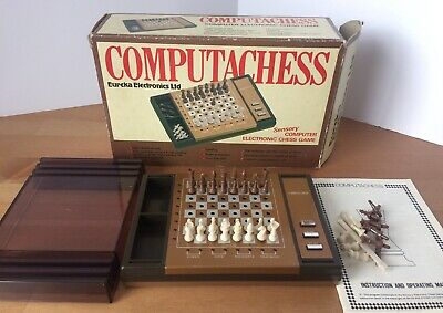 ADVANCED STAR CHESS 44 LEVEL Computer TRAVEL Holiday Portable