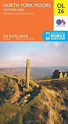 Ordnance Survey - North York Moors  Western Area