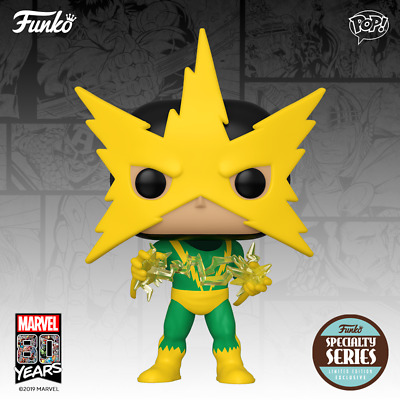 Funko Pop! Marvel 80th First Appearance Electro Figure  (Due in Nov)