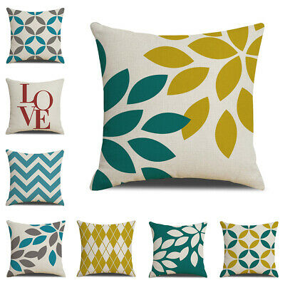 Simple Geometric Decorative Outdoor Pillow Cover Modern Square Cushion Covers