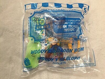 Mcdonalds Happy Meal Toy Story 4 #5 Woody's Balloon Boom New Unopened