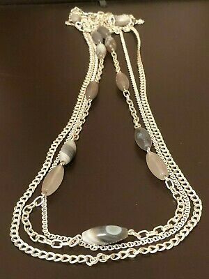 ae3fa4703efc3 BANANA REPUBLIC - Long Strand Necklace - Pearls, Dangles & Glitter ...
