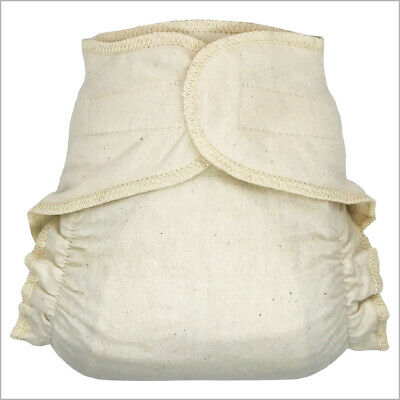 Hook-&-loop Cotton Fitted Cloth Diapers for Baby and Toddler