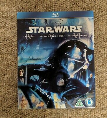 ORIGINAL STAR WARS Despecialized Trilogy  Deluxe Edition  Blu Ray