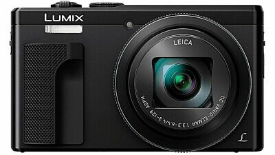 Panasonic Lumix TZ80 18.1MP Travel Digital Camera - Black 4K PHOTO 3OX 60X ZOOM