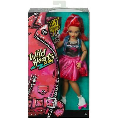 NEW 2019 Wild Hearts Crew *JACY MASTERS * Fashion Doll W/ Roller Skates MATTEL