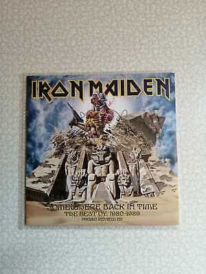 Iron Maiden – Somewhere Back In Time – Cd Promo 15 Tracks – New!