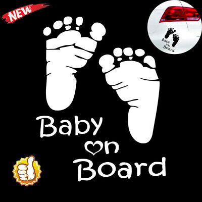 Quality Baby On Board Vinyl Car Graphics Window Vehicle Sticker Decal Decor Auto