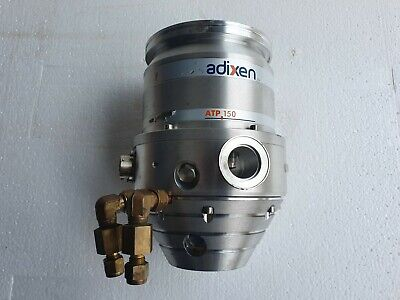 Alcatel Adixen ATP-150 Turbo Pump, Turbomolecular Vacuum Pump, ED 07