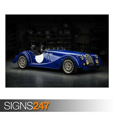 MORGAN PLUS 8 50TH ANNIVERSARY (AE878) - Photo Picture Poster Print Art A0 to A4