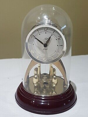 STAIGER German ANNIVERSARY mechanical Wind Up 8 day Mantle Dome clock
