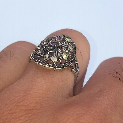 Extremely Rare Ancient Ring Viking Old Bronze Artifact Museum Quality