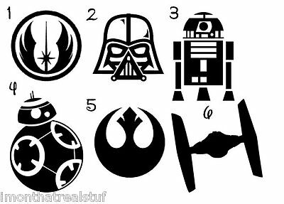 Star Wars Vinyl Decal Sticker Best Gift ALL DECALS BUY 2 GET 1 FREE