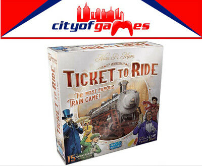 Ticket to Ride 15th Anniversary Special Edition Board Game Brand New In Stock