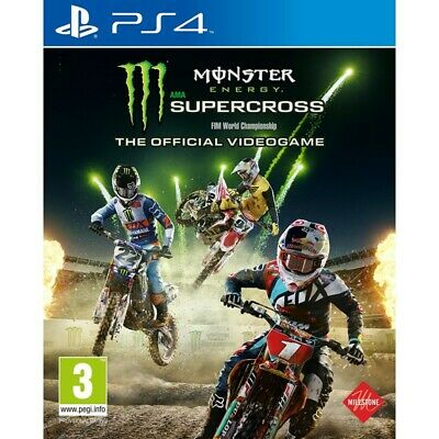 Milestone Monster Energy Supercross Milestone Sw Ps4 1024995 Monster Energy Supe