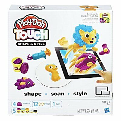 Hasbro Play-Doh B9018100 - Touch Haare Boosterset, Knete