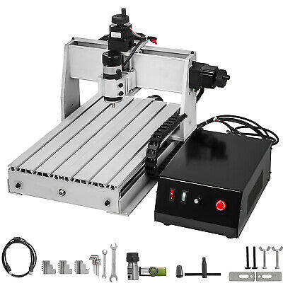 3 Axis CNC Router 3040 Engraving Milling Machine Chrome Plate Shaft Durable USB