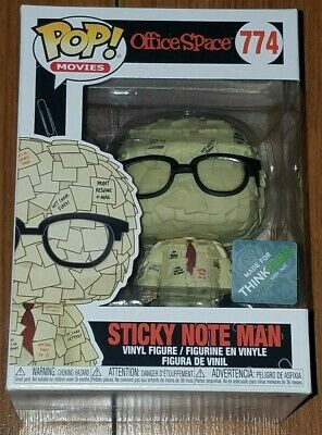 Funko Pop Movies #774 Sticky Note Man Office Space SDCC ThinkGeek Exclusive