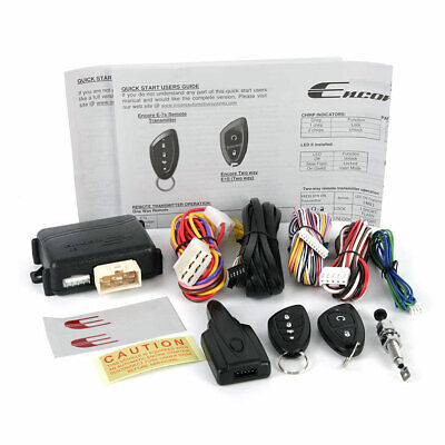 ENCORE ENCOREE5 E5 Encore Remote Start/Keyless Entry with 2-way Confirmation