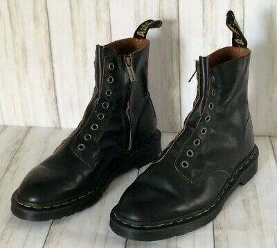 best price various design first rate DR. MARTENS UNISEX 1460 Laceless Boots Black Vintage Smooth ...
