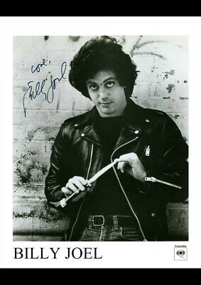 Billy Joel 1 Autographed Signed Art Print Poster Reprint