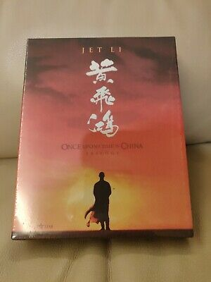 0nce Upon A Time in China Trilogy Korea Bluray,  New/READ, 313/777