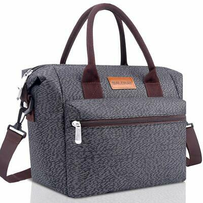 5f4ef11ab682 BALORAY LUNCH BAG For Women Insulated Box W Adjustable Shoulder ...
