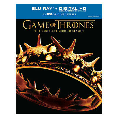 Warner Home Video Br475443 Game Of Thrones-Complete 2Nd Season (Blu-Ray/Dc/5 ...