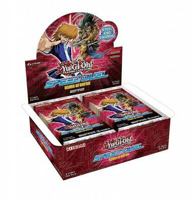 YU-GI-OH! - TCG - Speed Duel - Scars of the Battle 4 x card Booster Box