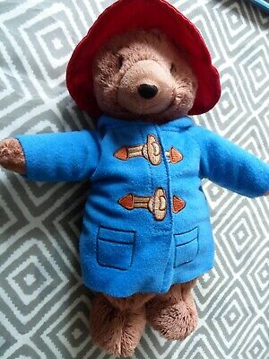 PADDINGTON BEAR 11 Inch Soft Plush Toy  VERY GOOD CONDITION OFFICIAL